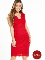 Wallis Petite Scallop Lace Dress