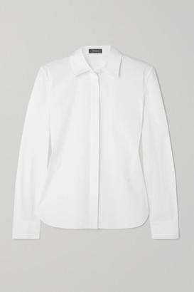 Theory Cotton-blend Shirt - White