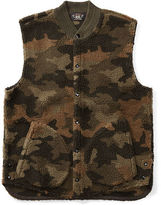Ralph Lauren RRL Camo Fleece Vest
