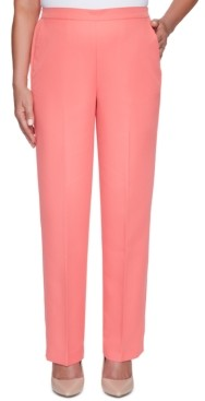 Alfred Dunner Petite Miami Beach Pull-On Pants