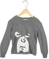 Stella McCartney Girls' Patterned Crew Neck Sweater