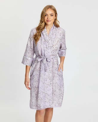 Papinelle Cherry Blossom Maxi Robe