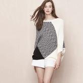 Maje Poncho style sweater