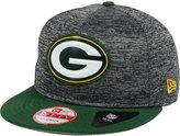 New Era Green Bay Packers Shadow Bevel 9FIFTY Snapback Cap