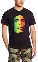 Zion Rootswear Men's Bob Marley Face T-Shirt