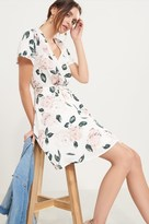 Dynamite Fit and Flare Wrap Dress