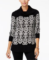 Charter Club Cowl-Neck Sweater, Only at Macy's