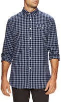 Jachs Jaspe Gingham Shield Pocket Sportshirt