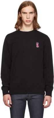 MAISON KITSUNÉ Black Acide Fox Patch Sweatshirt