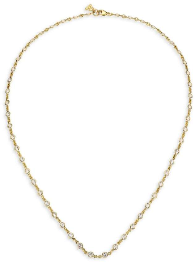 Temple St. Clair 18K Gold And Sapphire Necklace