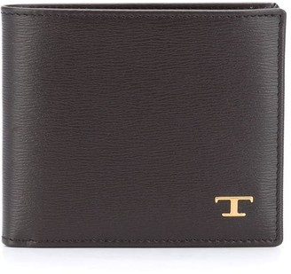 Tod's Foldover Leather Wallet