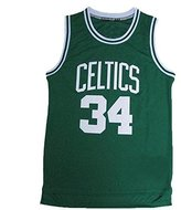 Nobrand No.34 Pierce Jersey Basketball Jersey Sports FREE Shipping Embroidery Men's Jersey M