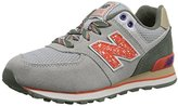 New Balance KL574G Outside Pack Classic Running Shoe (Toddler/Little Kid/Big Kid)