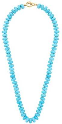 Irene Neuwirth Candy Turquoise & 18kt Gold Necklace - Blue