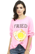 Wildfox Couture Fried Kims Sweater in Neon Sign