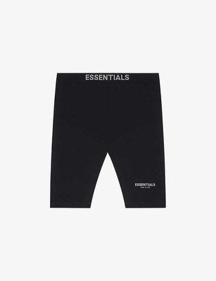 Fog X Essentials ESSENTIALS branded-waistband stretch-woven cycling shorts