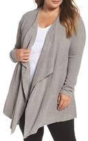 Barefoot Dreams Plus Size Women's Cozychic Lite Calypso Wrap Cardigan
