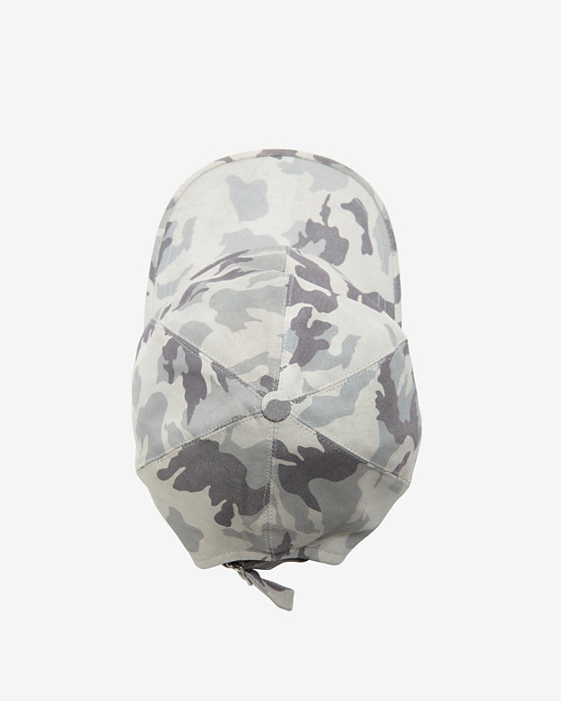 Exclusive for Intermix Camo Printed Leather Baseball Cap