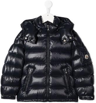 Moncler Enfant Padded Puffer Coat