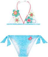 Pate De Sable Flower-printed bikini