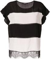 Twin-Set horizontal striped T-shirt