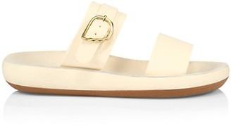 Ancient Greek Sandals Preveza Leather Flatform Sandals