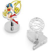 Asstd National Brand DC Comics Wonder Woman Action Cuff Links