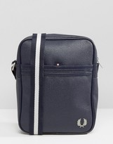 Fred Perry Scotch Grain Flight Bag in Navy
