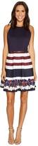 Ted Baker Annalie Rowing Stripe A-Line Skater Dress Women's Dress