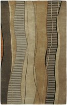 Surya IN8020-23 Cocoa Mugal Collection Rug - 2ft X 3ft