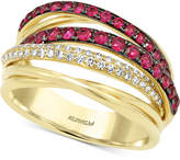 Effy Final Call by Ruby (3/4 ct. t.w.) & Diamond (1/5 ct. t.w.) Ring in 14k Gold