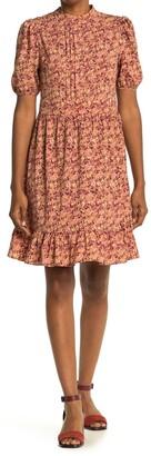 AWARE BY VERO MODA Floral Puff Sleeve Dress
