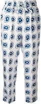 Kiton paisley print cropped trousers - women - Silk - 42