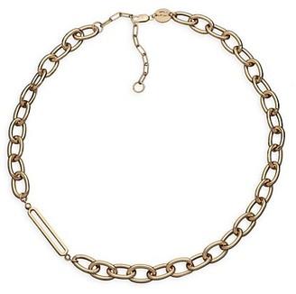 Jennifer Zeuner Jewelry Georgina 14K Goldplated & Diamond Necklace