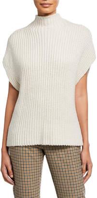 Elie Tahari Kalyn Turtleneck Dolman-Sleeve Sweater