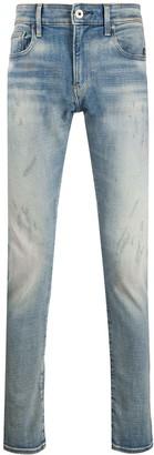 G Star Revend mid-rise skinny jeans