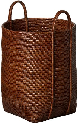 OKA Tisser Rattan Laundry Basket - Brown