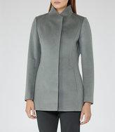 Reiss Napoli High-Collar Wool Coat