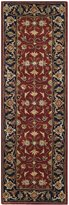 Safavieh ROY256A-27 Royalty Collection Handmade Wool Runner, 2-Feet 3-Inch by 7-Feet