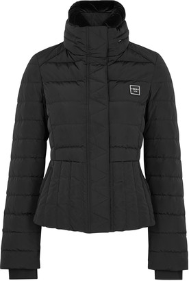 High Daybreak black quilted shell jacket
