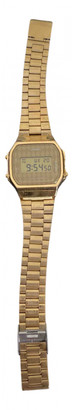 Casio Gold gold and steel Watches