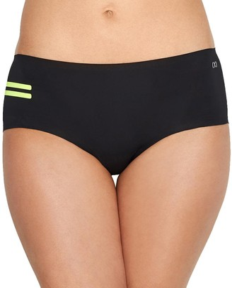 2xist Women's Bonded Micro Sport Hipster Underwear