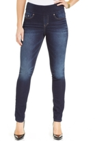 Jag Petite Nora Knit Pull-On Skinny Jeans