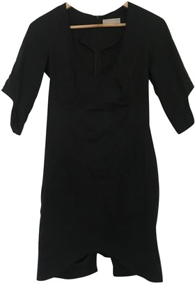Willow Black Cotton Dress for Women
