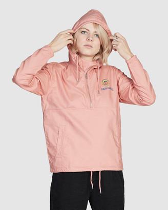 Quiksilver Womens Half-Zip Hooded Jacket