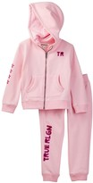 True Religion Hoodie & Sweatpant Set (Toddler Girls)