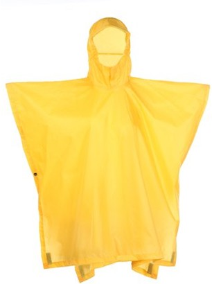 Red Ledge Youth Storm Waterproof Rain Poncho - One Size, Yellow