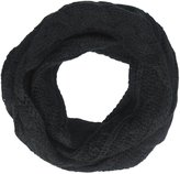 Appaman Cable Knit Infinity Scarf (Kid) - Black - One Size