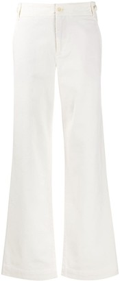 Vince High Waist Flared Trousers