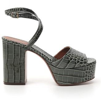 L'Autre Chose Platform Ankle Strap Sandals